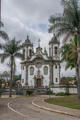 Die Kirche Sao Francisco de Assis