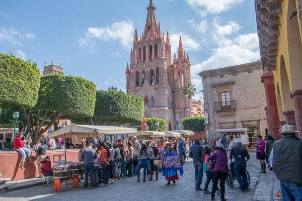 Im Zentrum von San Miguel de Allende