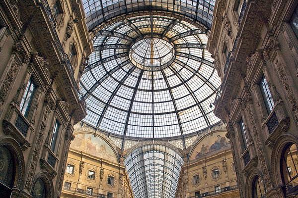 Galleria Vittorio Emanuele - © Helga Jaramillo Arenas - Fotografie und Poesie / Oktober 2013