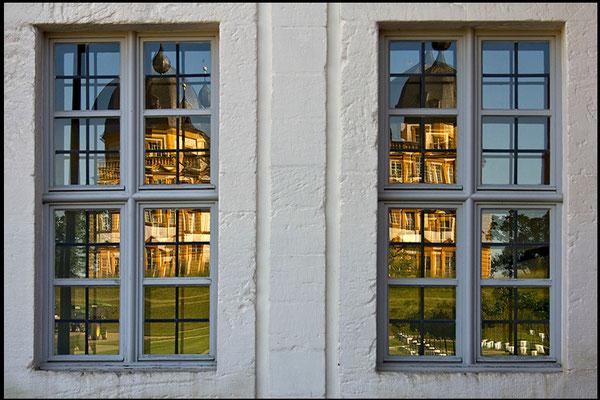 Gespiegeltes Barock (1) / Schloß Seehof Memmelsdorf - © Helga Jaramillo Arenas - Fotografie und Poesie / Juni 2015