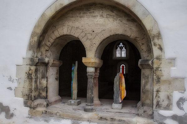 Kunst im Kloster - © Helga Jaramillo Arenas - Fotografie und Poesie / August 2020