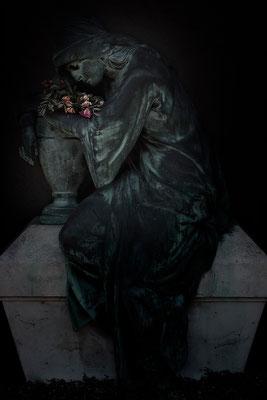 Die Trauer über die entschwundene Liebe - © Helga Jaramillo Arenas - Fotografie und Poesie  / Juli 2015