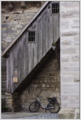 Aufgang zum Turm / Rothenburg o. d. Tauber - © Helga Jaramillo Arenas - Fotografie und Poesie / Januar 2017
