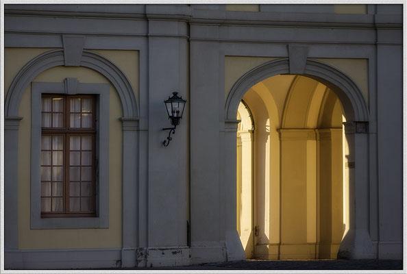 Abends am Schloß / Ludwigsburg - © Helga Jaramillo Arenas - Fotografie und Poesie / November 2016