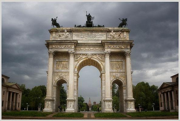 Arco della pace (2) - © Helga Jaramillo Arenas - Fotografie und Poesie / Juni 2013