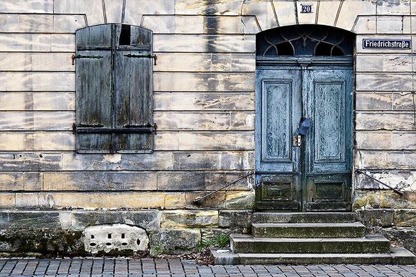 Friedrichstraße - © Helga Jaramillo Arenas - Fotografie und Poesie / April 2012