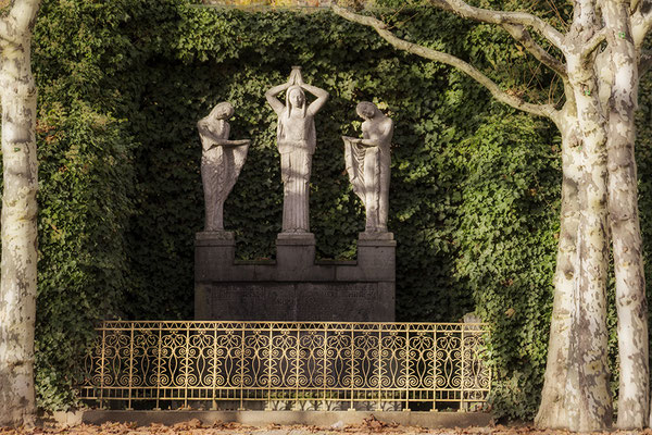 Die Kraft der inneren Stille / Darmstadt Mathildenhöhe - © Helga Jaramillo Arenas - Fotografie und Poesie / November 2017