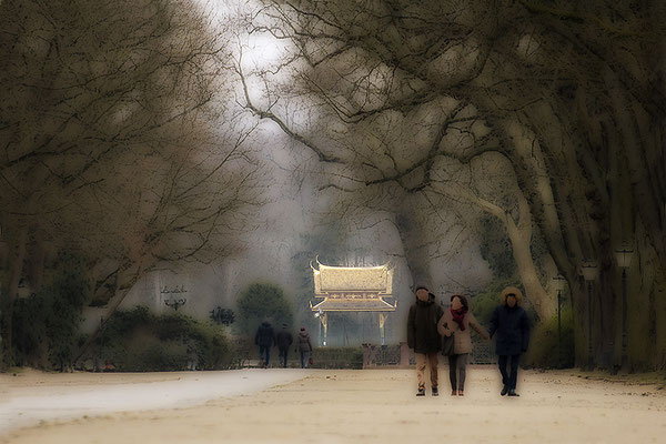 Sonntags im Park II. - © Helga Jaramillo Arenas - Fotografie und Poesie / Februar 2018