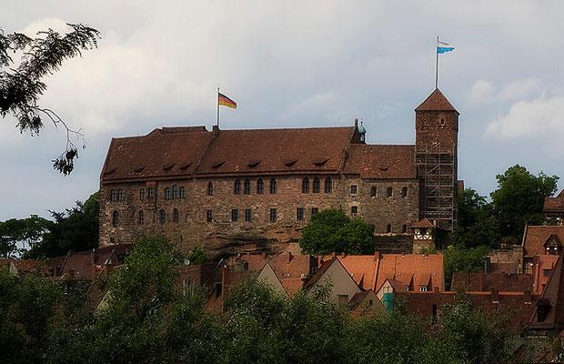 Die Kaiseburg zu Nürnberg - © Helga Jaramillo Arenas - Fotografie und Poesie / Juni 2011