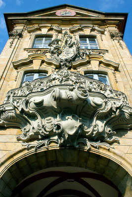 Barocke Verkleidung / Altes Rathaus Bamberg - © Helga Jaramillo Arenas - Fotografie und Poesie / Juni 2015