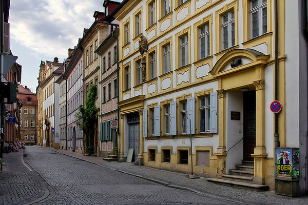 Stille Gassen / Bamberg - © Helga Jaramillo Arenas - Fotografie und Poesie / Juni 2015