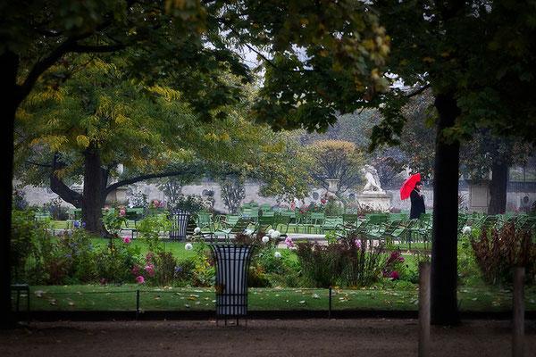 Der Herbst im Jardin des Tuileries / Paris - © Helga Jaramillo Arenas - Fotografie und Poesie / Oktober 2015