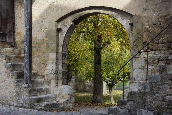 Der Herbst vor den Toren / Rothenburg o. d. Tauber - © Helga Jaramillo Arenas - Fotografie und Poesie / Januar 2017