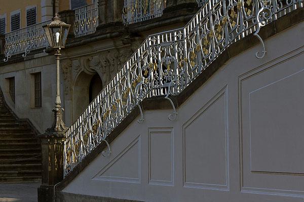 Fürstliche Aufgänge / Pillnitz - © Helga Jaramillo Arenas - Fotografie und Poesie / Oktober 2014