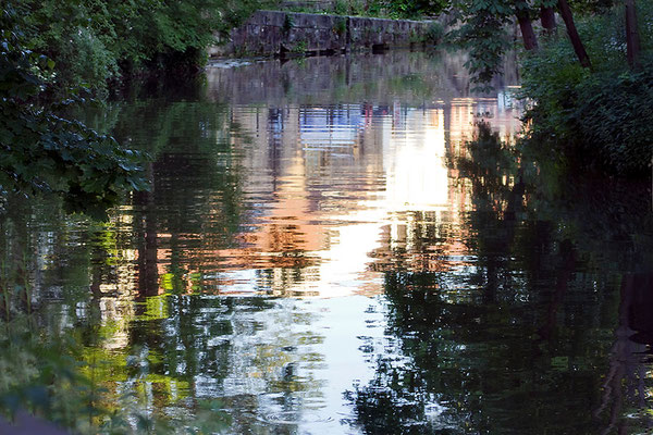 In den Fluss gefallen - © Helga Jaramillo Arenas - Fotografie und Poesie / Juni 2015