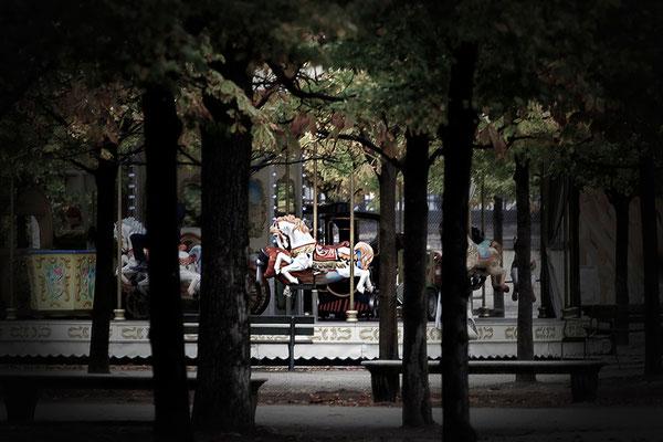 Zauberland Jardin des Tuileries / Paris - © Helga Jaramillo Arenas - Fotografie und Poesie / Oktober 2015