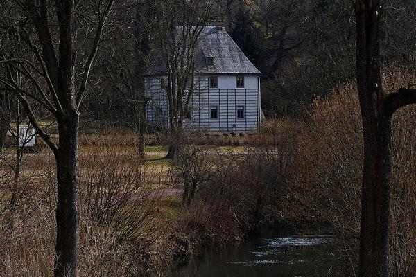 Zu Besuch bei Herrn Goethe / Weimar - © Helga Jaramillo Arenas - Fotografie und Poesie / März 2011
