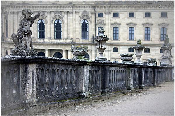 Der Spaziergang / Residenz Würzburg - © Helga Jaramillo Arenas - Fotografie und Poesie / Januar 2014