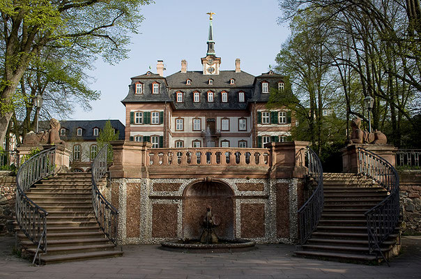 Das Schloß im Frühling / Frankfurt-Höchst - © Helga Jaramillo Arenas - Fotografie und Poesie / April 2011