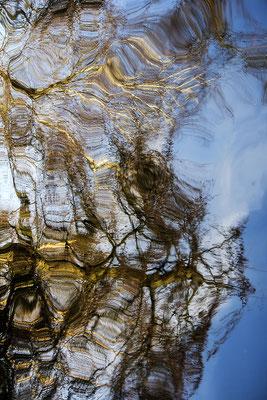 Der Blick I./Wasserspiegelung - © Helga Jaramillo Arenas - Fotografie und Poesie / Mai 2018