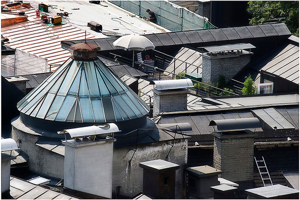Geschichten vom Dach (4) - © Helga Jaramillo Arenas - Fotografie und Poesie / September 2012