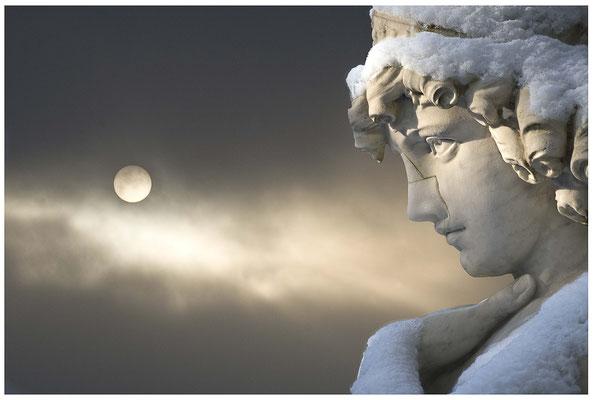 In einer kalten Winternacht - © Helga Jaramillo Arenas - Fotografie und Poesie / Dezember 2012