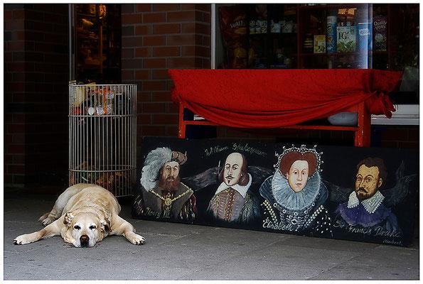 Der Auftritt - © Helga Jaramillo Arenas - Fotografie und Poesie / Juni 2012