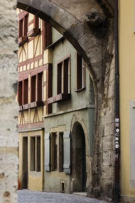 Alte Gassen / Rothenburg o. d. Tauber - © Helga Jaramillo Arenas - Fotografie und Poesie / Januar 2017
