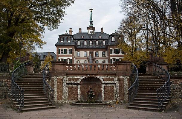 Das Schloß im Herbst / Frankfurt-Höchst - © Helga Jaramillo Arenas - Fotografie und Poesie / November 2011