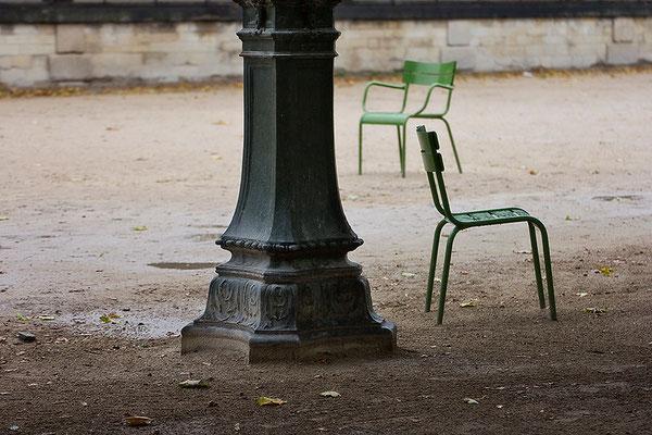 Regen im Jardin des Tuileries / Paris - © Helga Jaramillo Arenas - Fotografie und Poesie / Oktober 2015