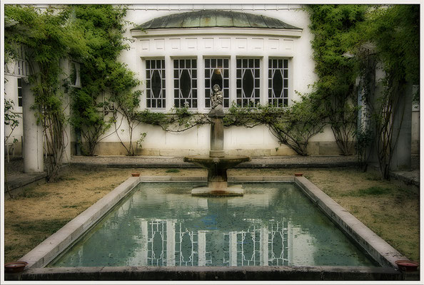 Verbrannte Gärten / Bad Nauheimer Jugendstilbad - © Helga Jaramillo Arenas - Fotografie und Poesie / September 2018