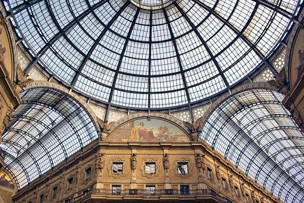 Galleria Vittorio Emanuele (2) - © Helga Jaramillo Arenas - Fotografie und Poesie / Oktober 2013
