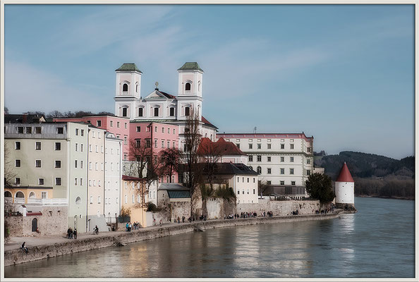 Wetterfühlig (2) / Passau - © Helga Jaramillo Arenas - Fotografie und Poesie / April 2017