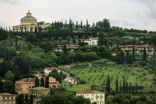 Ins Grün gebettet / Verona - © Helga Jaramillo Arenas - Fotografie und Poesie / Juni 2018