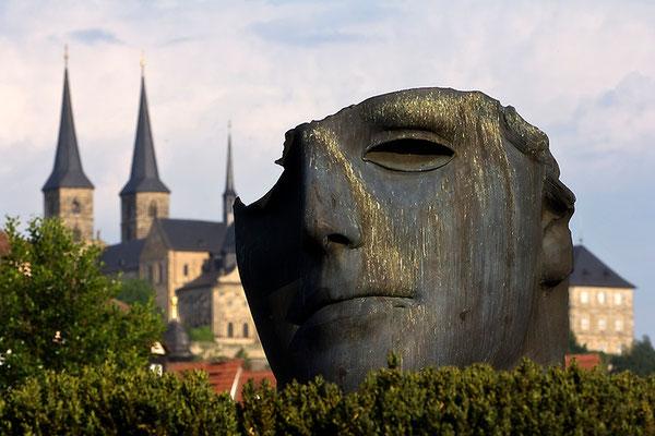 Maskenträger einer Stadt / Bamberg - © Helga Jaramillo Arenas - Fotografie und Poesie / Juni 2015