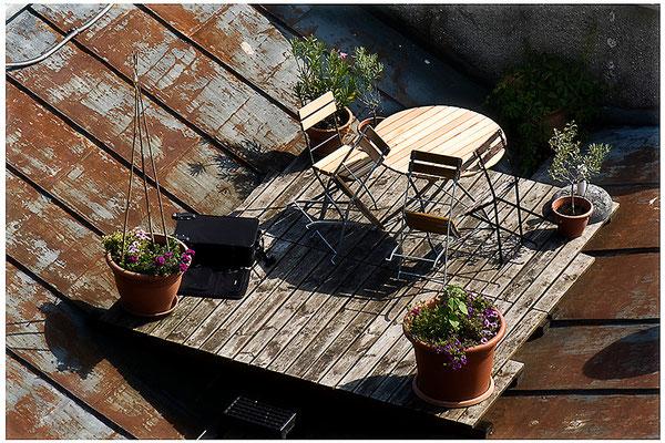 Geschichten vom Dach (5) - © Helga Jaramillo Arenas - Fotografie und Poesie / September 2012