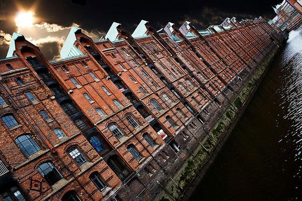 In der Speicherstadt / Hamburg - © Helga Jaramillo Arenas - Fotografie und Poesie / Juni 2012