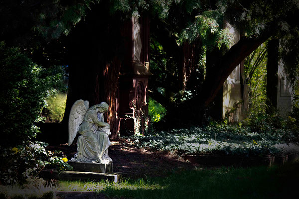 An magischen Orten begegnen dir Engel - © Helga Jaramillo Arenas - Fotografie und Poesie / April 2015
