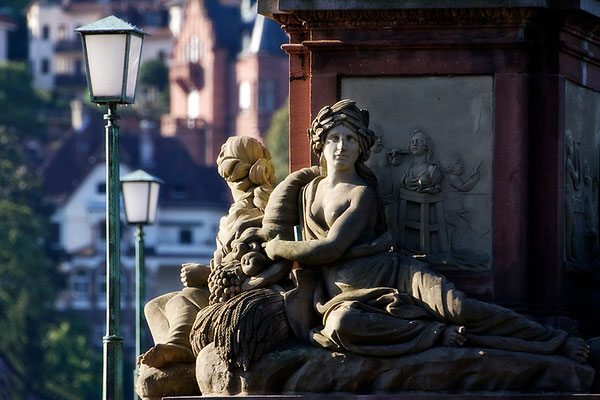 Begrüßung einer Stadt / Heidelberg - © Helga Jaramillo Arenas - Fotografie und Poesie / August 2015