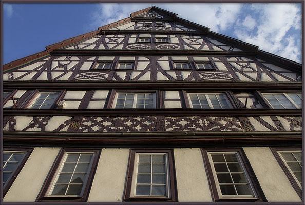Hochgeschaut / Öhringen - © Helga Jaramillo Arenas - Fotografie und Poesie / Juli 2017