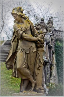 Des Schuhwerks Bloße / Würzburger Schloßgarten - © Helga Jaramillo Arenas - Fotografie und Poesie / Januar 2014