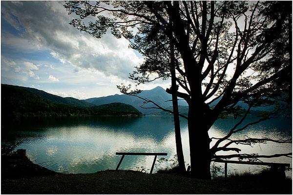 Der Abend am See - © Helga Jaramillo Arenas - Fotografie und Poesie / Juli 2014