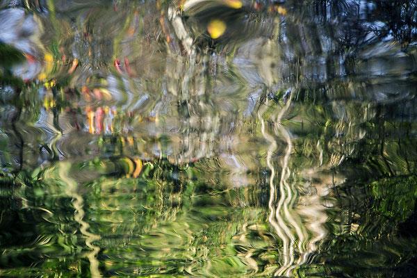 Aufbegehren/Wasserspiegelung - © Helga Jaramillo Arenas - Fotografie und Poesie / Mai 2018
