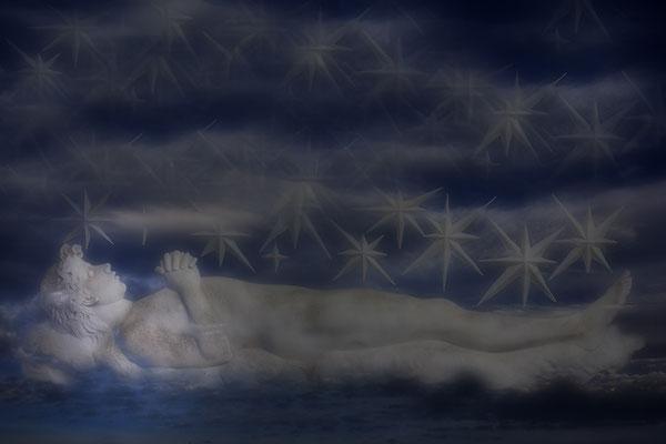 In Wolken gebettet - © Helga Jaramillo Arenas - Fotografie und Poesie / Januar 2015
