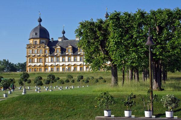 Barocke Pracht (1) / Schloß Seehof Memmelsdorf - © Helga Jaramillo Arenas - Fotografie und Poesie / Juni 2015