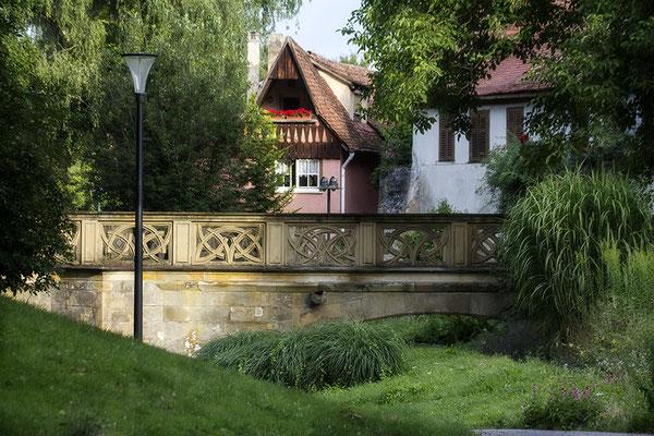 An der Brücke / Öhringen - © Helga Jaramillo Arenas - Fotografie und Poesie / Juli 2017
