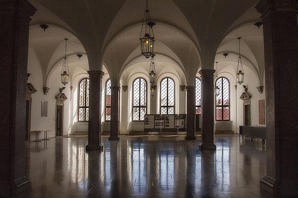 Im Rathaus / Augsburg - © Helga Jaramillo Arenas - Fotografie und Poesie / April 2019