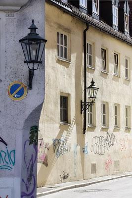 Sonnen- und Schattenseiten Augsburg  - © Helga Jaramillo Arenas - Fotografie und Poesie / April 2020