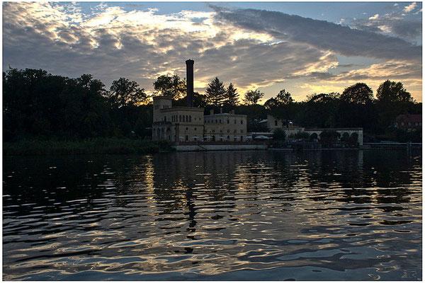 Ein Abend auf der Havel / Potsdam - © Helga Jaramillo Arenas - Fotografie und Poesie / Juni 2012