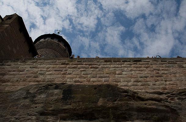 Auf der Burg / Nürnberg - © Helga Jaramillo Arenas - Fotografie und Poesie / Juni 2011